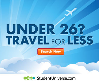 StudentUniverse.com - Travel More. Spend less