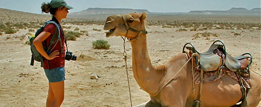 Camel trekking through the desert on your bucket list
