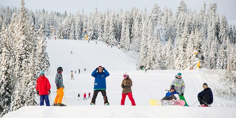 Work in a Ski Resort on a ski season