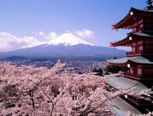 Japan the rising sun