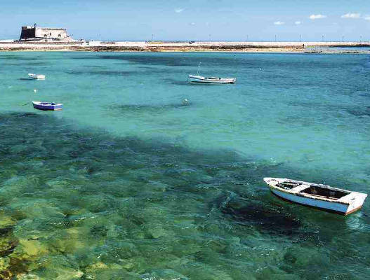 Lanzarote, the most northern of the Canary Islands in Europe