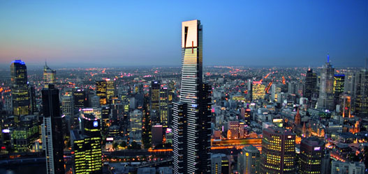 The Skydeck in Melbourne