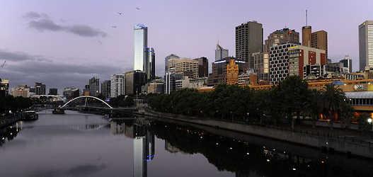 Melbournes yarra river
