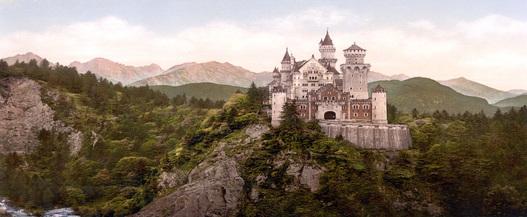 Neushwanstein Castle In Germany
