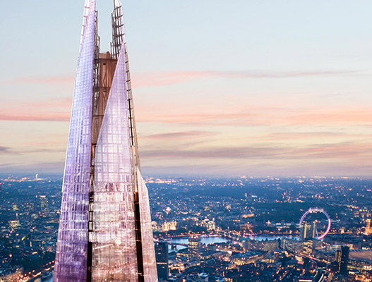 the best view from the shard for London students