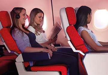 Fly In Comfort With Virgin Atlantic