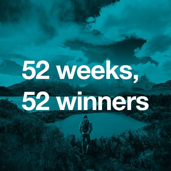 52 weeks, 52 winners