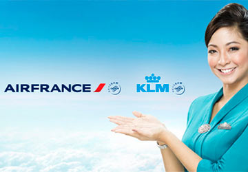 Air France and KLM cheap flights