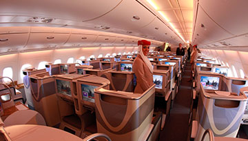 Emirates Airways in Flight Entertainment