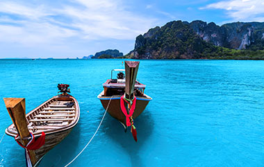 Thailand Tours Longtail Boats