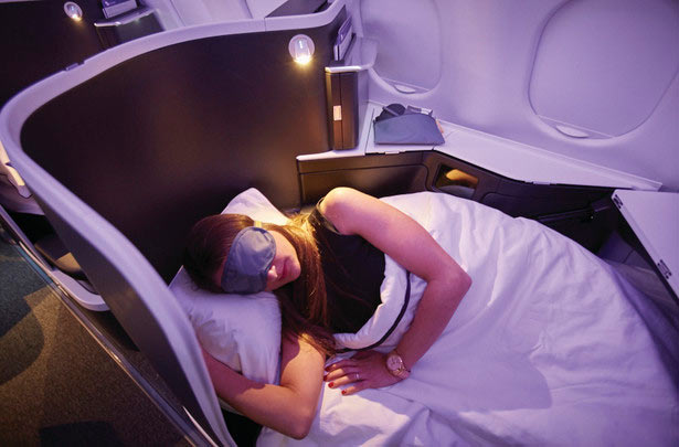 Virgin Australia Lie Flat Seats
