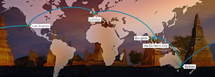 Round the world tickets cheap flights studentuniverse uk sciox Images